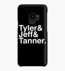 Tyler & Jeff & Tanner Case/Skin for Samsung Galaxy