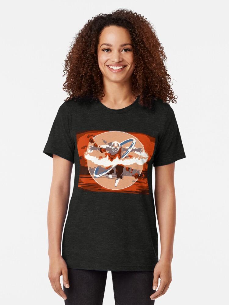 Alternative Ansicht von Avatar Staat Vintage T-Shirt