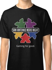 San Antonio Nerd Night - Color Flat Classic T-Shirt