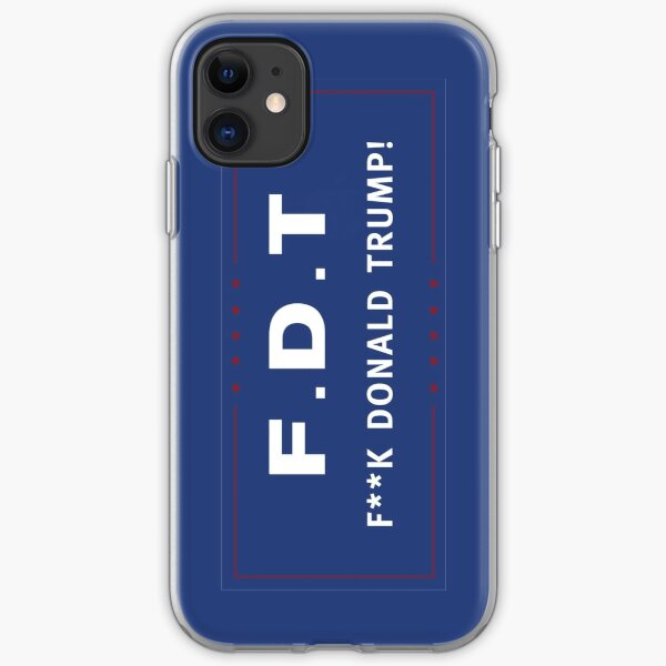 Fuck Donald Trump iPhone Soft Case