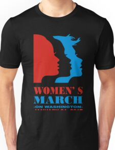 womens march Unisex T-Shirt