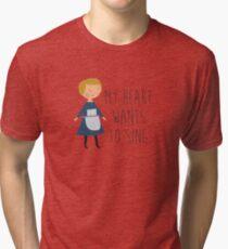 Sound of music maria Tri-blend T-Shirt