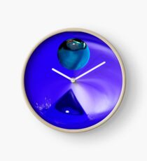 asymmetrical abstract 001 Clock
