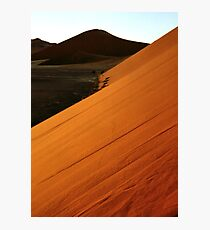 Glowing Slopes Photographic Print