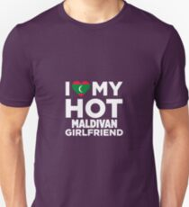 I Love My Hot Maldivan Girlfriend Unisex T-Shirt