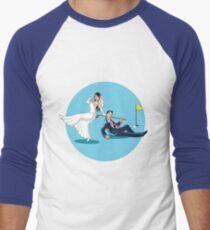 MARRYING GOLFER Men's Baseball ¾ T-Shirt