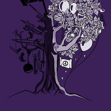 Dead Tree by PokerTShirts
