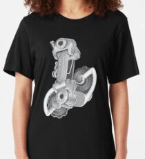 Campagnolo Nuovo Record Rear Derailleur, 1974 Slim Fit T-Shirt