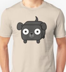 Pit Bull Loaf - Black Pitbull with Floppy Ears T-Shirt