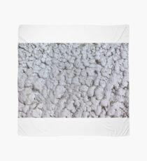 Salt crystals on a wall in a salt mine Scarf