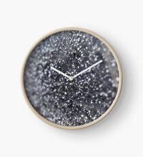 Salt crystals on a wall in a salt mine Clock