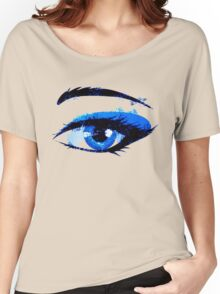 Abstract woman eye Women's Relaxed Fit T-Shirt