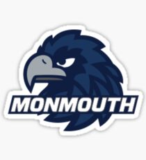 Monmouth University Blue Hawks Sticker