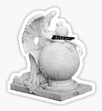 Sad Angel Sticker