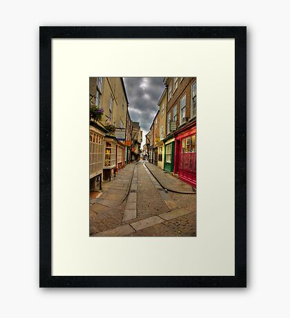 Shambles #1 - York Framed Print