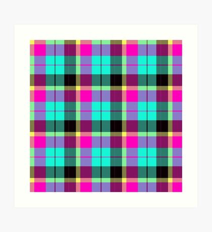 Scottish Pink by Julie Everhart Art Print