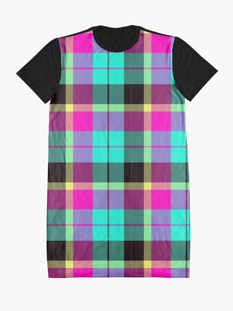 Alternate view of Scottish Pink by Julie Everhart Graphic T-Shirt Dress