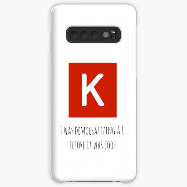 Democratizing AI Keras Version Samsung Galaxy Snap Case