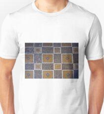 Mosaic antic decorative floor.  T-Shirt