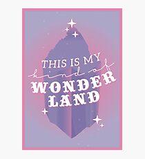 this is my kind of wonderland - jessica, wonderland Photographic Print