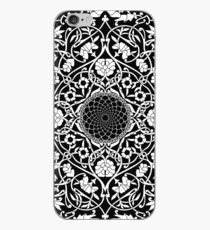 Indigo Home Medallion - White iPhone Case