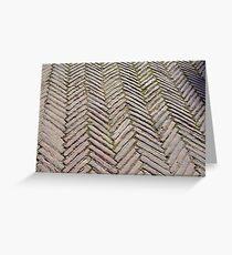 Floor ceramic tiles Greeting Card
