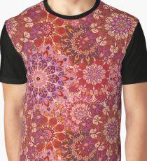 Flower mandala pattern Graphic T-Shirt