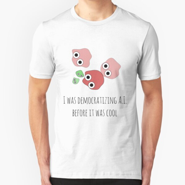 Democratizing AI Otoro Version Slim Fit T-Shirt