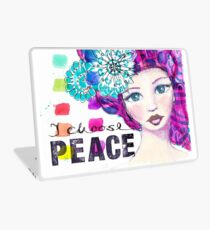 I choose peace Laptop Skin