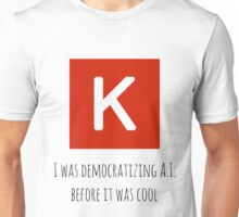 Democratizing AI Keras Version T-Shirt
