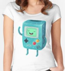 Game Beemo Women's Fitted Scoop T-Shirt