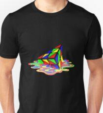 Melting Pyraminx cude T-Shirt