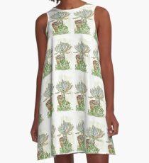 "Graptoveria ""Fred Ives"" A-Line Dress"