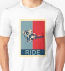 Ride - Motocross, MX, Enduro, Dirt Bike fahren Slim Fit T-Shirt