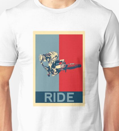 Ride - motocross, MX, enduro, dirt bike riding Unisex T-Shirt