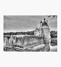 Chateau De Chenonceau, France (Black & White)  Photographic Print