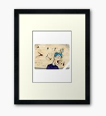 BARF! Framed Print