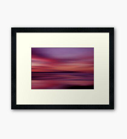 Sunset Shades Framed Print