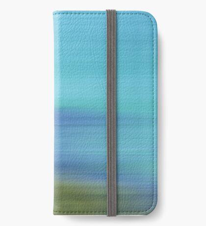 A beautiful blur iPhone Wallet