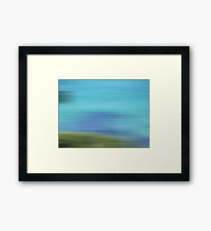 A beautiful blur Framed Print