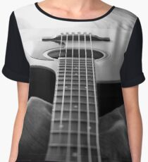 Guitar Chiffon Top