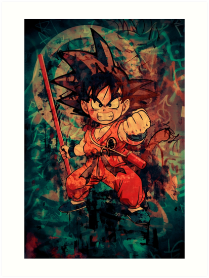 Kid Goku von David Atkinson