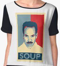 No soup for you. Soup Nazi Quote. Chiffon Top