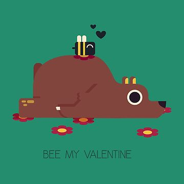 Bee My Valentine by Melophilus