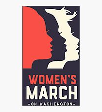 Women's March on Washington Photographic Print