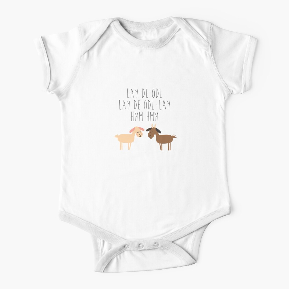 Sound of music goat herd Baby One-Piece