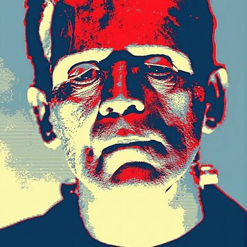 Boris Karloff in The Bride of Frankenstein by artcinemagaller