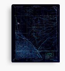 USGS TOPO Map California CA Tupman 296573 1933 31680 geo Inverted Canvas Print