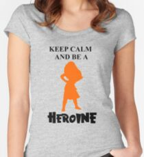 Heroine Women's Fitted Scoop T-Shirt