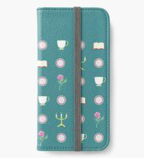 Beauty Pattern iPhone Wallet/Case/Skin
